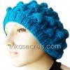 01 Turquoise Wool Hat – Handmade in Perú