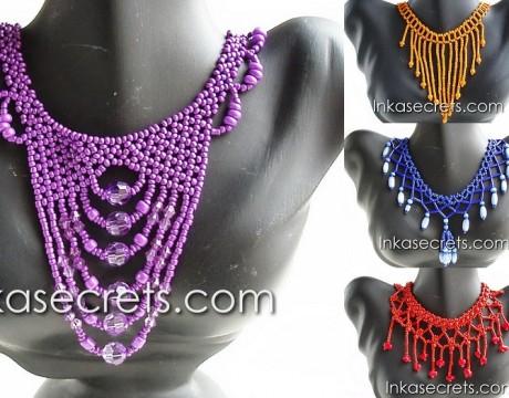 12 Mostacilla Necklaces – Jewelry Peru