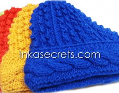05 Alpaca Wool Hat Knitted