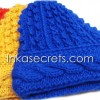 02 Alpaca Wool Hat Knitted