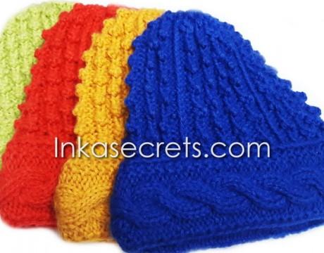 50 Alpaca Wool Hat Knitted