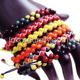 15 Peruvian achira seeds bracelets
