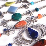 10 Peruvian Stone Semi-Precious Bracelets