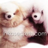 15 Baby alpaca bear & dog small