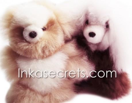 15 Baby alpaca bear & dog small