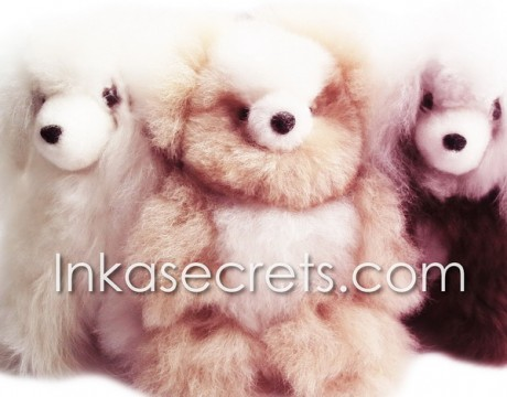 30 Baby alpaca bear & dog small