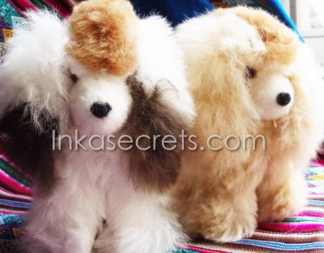 15 Baby alpaca fur dog small.