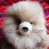02 Baby alpaca teddy bear 12″