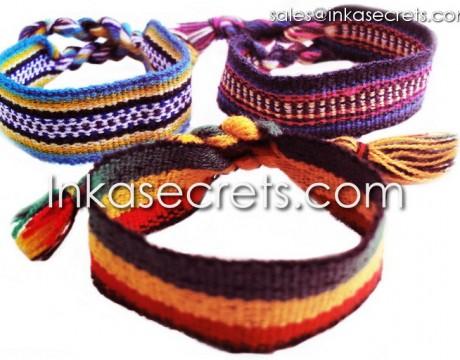 500 Peruvian ethnic friendship bracelets