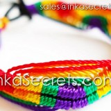 150 Rainbow Friendship Bracelets