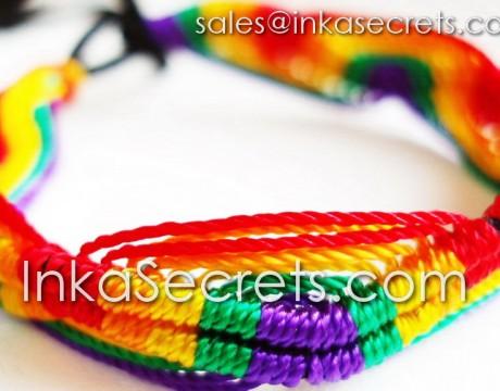 150 Rainbow Friendship Bracelets