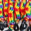 300 Rainbow Friendship Bracelets