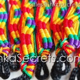 300 Rainbow Friendship Bracelets