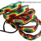 300 Peruvian Classic Rasta Friendship Bracelets
