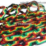1000 Peruvian Classic Rasta Friendship Bracelets