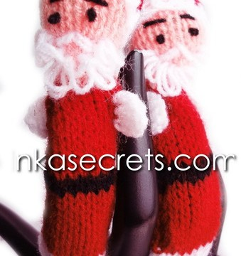 120 Santa Finger Puppets