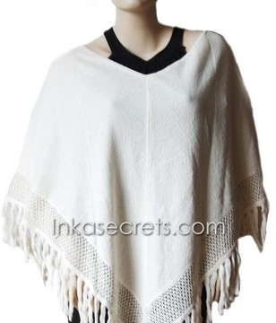12 Peruvian Cotton Poncho