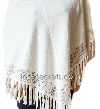 25 Peruvian Cotton Poncho