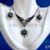 100 Sets of necklace & earrings bull's horn