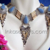 200 Sets of bamboo necklace & earrings