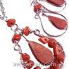 200 Sets alpaca necklaces earrings w/stone
